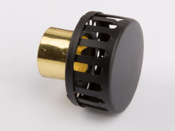 Smoke stack black-brass D320